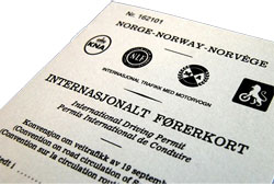 internationalt førekort