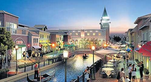 venezia shopping mall